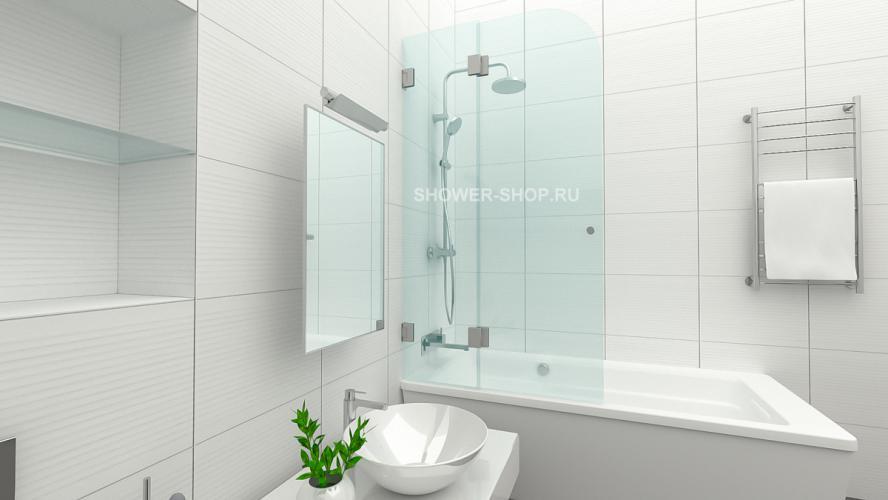 Фурнитура для стеклянного ограждения на ванну №704