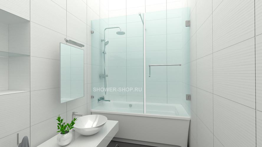 Фурнитура для шторки на ванну с дверью №708