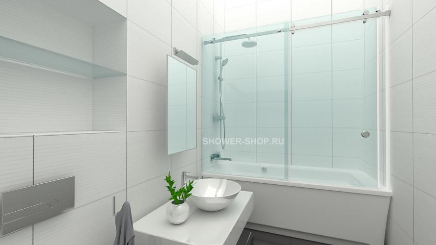 Фурнитура для шторки на ванну раздвижная №709